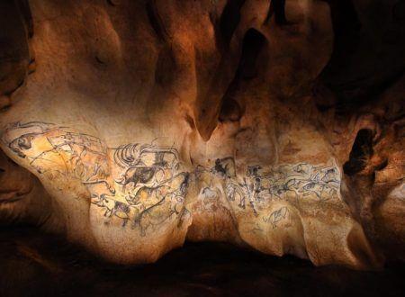 Grotte Chauvet 2 - Le Panneau des lions ® Patrick Aventurier